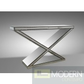 Modrest Manor - Transitional Mirrored Console Table