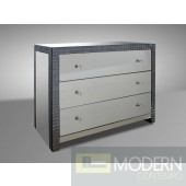 Modrest Emerson - Transitional Three Drawer Bedroom Dresser