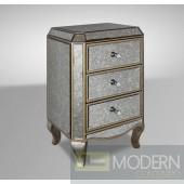 Modrest Evans - Transitional Mirror Beside Table