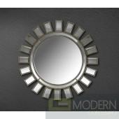 Modrest Crescent - Transitional Sun Design Mirror