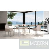 Renava T61 - Modern Patio Dining Set
