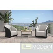Renava H72 - Modern Patio Lounge Set