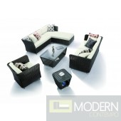 H0808 - 5 Piece Patio Sofa Set