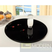 "24"" Round Glass Rotating Tray"
