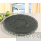 Sandwich Glass Lazy Susan 24""