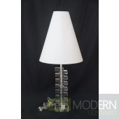 Modrest MA-4053 - Transitional Transparent Table Lamp