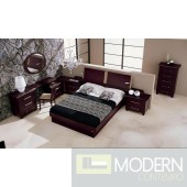 Miss Italia - Composition 01 - Italian Platform Bed Group