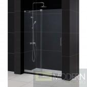 """Mirage Frameless Sliding Shower Door and SlimLine 36"""" by 48"""" Single Threshold Shower Base"""