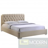 Amelia Queen Fabric Bed Frame