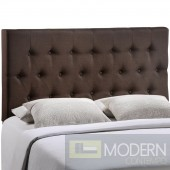 Clique Queen Headboard Brown