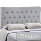 Clique Queen Headboard Light Grey