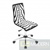 Printed Office Chair