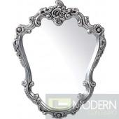 Modrest PU023 - Transitional Black Round Mirror