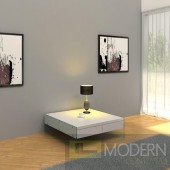 Modern AURA White Floating Coffee Table