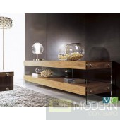 Adrian Modern Walnut Floating TV Stand