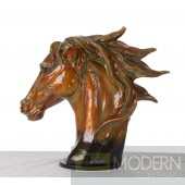 Modrest SZ0002 - Modern Bronze Horse Head Sculpture