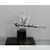 Modrest Gymnast-A - Modern Polyresin Sculpture
