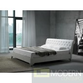 Modrest San Remo Leatherette Modern Bed