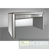 Modrest Tenor - Transitional Mirrored Console Table with Drawers