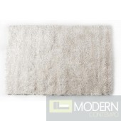 Modrest Shaggy OY08 White Large Area Rug