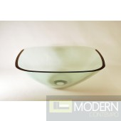 Clear Square Vessel Sink