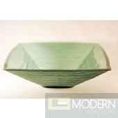 Light Green Square Vessel Sink