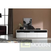 TV Stand 023 in White High Gloss