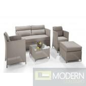 Renava H75 5-Piece Outdoor Sofa Set