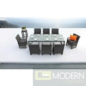 Renava Lavita - Outdoor Table and 8 Chair Patio Dining Set