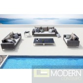 Renava Rock Modern Large Patio Sofa Set
