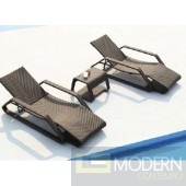 Renava Seville - Two Lounge Chairs and End Table Patio Set