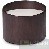 Modrest Geneva - Modern Brown Oak Nightstand