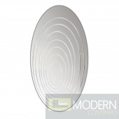 Ripples Mirror Oval