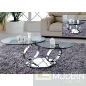 Circles - Glass Coffee Table