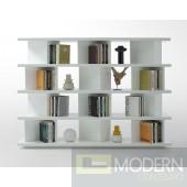 Modrest Modern White Lacquer Display Unit