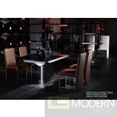 A&X Centro Modern Black High Gloss Dining Table
