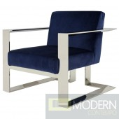 Kalypso Blue Accent Chair