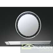 "39"" Rosalie Wall Mirror faux gemstones"
