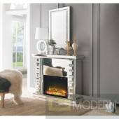 The William Mirrored Fireplace