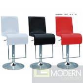 Alayna - Modern Bonded Leather Barstool