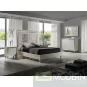 La Rue Premium Wood Platform Bed