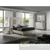 Alba Natural Oak Veneer Platform Bed