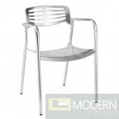Aluminum Dining Chair, Aluminum
