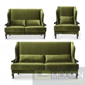 Angelina Neo Classic Luxury Living room Sofa Set
