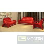 Divani Casa Bentley - Modern Leather Sofa Set
