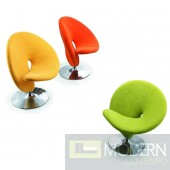 Citrus Peel Swivel Leisure Chair
