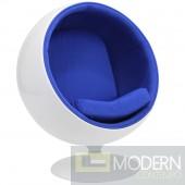 Ball Chair, Blue