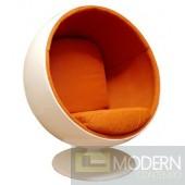 Ball Chair, Orange