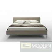 Modern Brown Fabric Bed