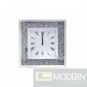 Ottavia Wall clock with Crystals